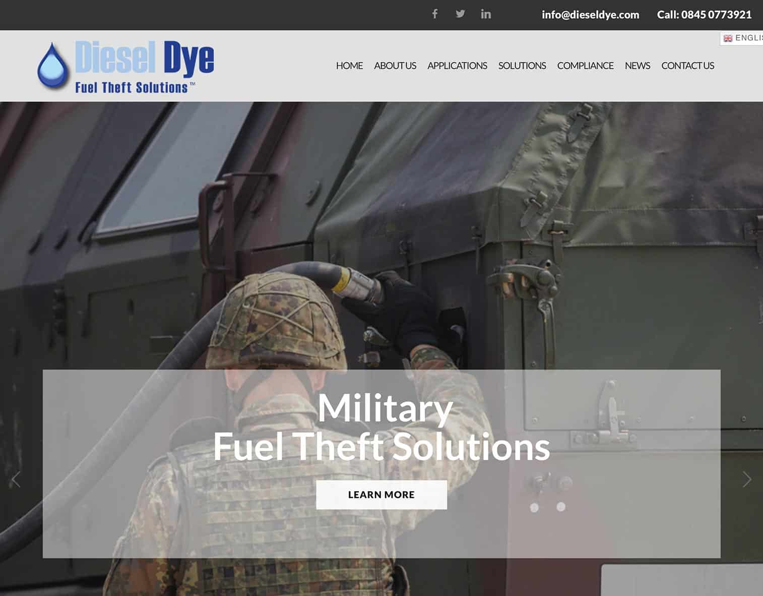 Diesel Dye Website