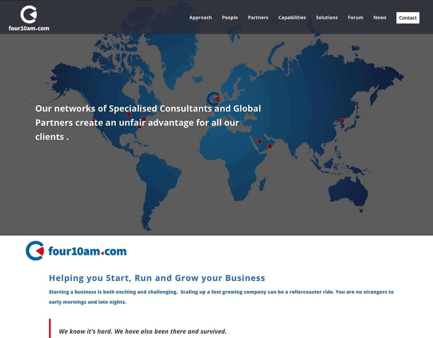 Four10am website