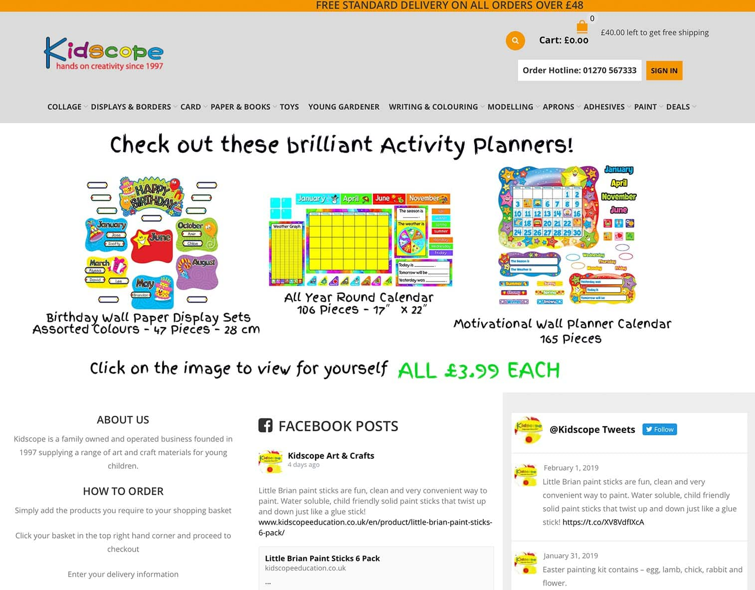 Kidscope Education Website