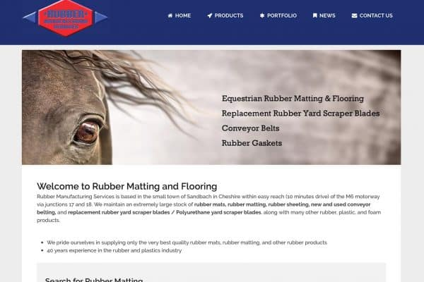 Rubber Matting Website