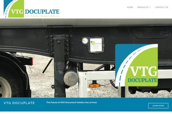 VTG Docuplate Website