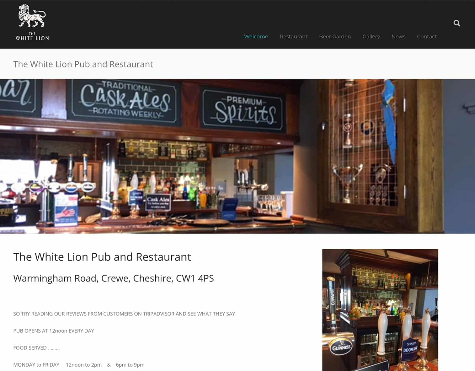 white-lion-pub-and-restaurant-crewe-website
