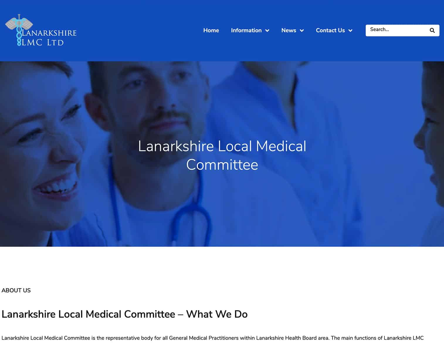 Lanarkshire LMC Website
