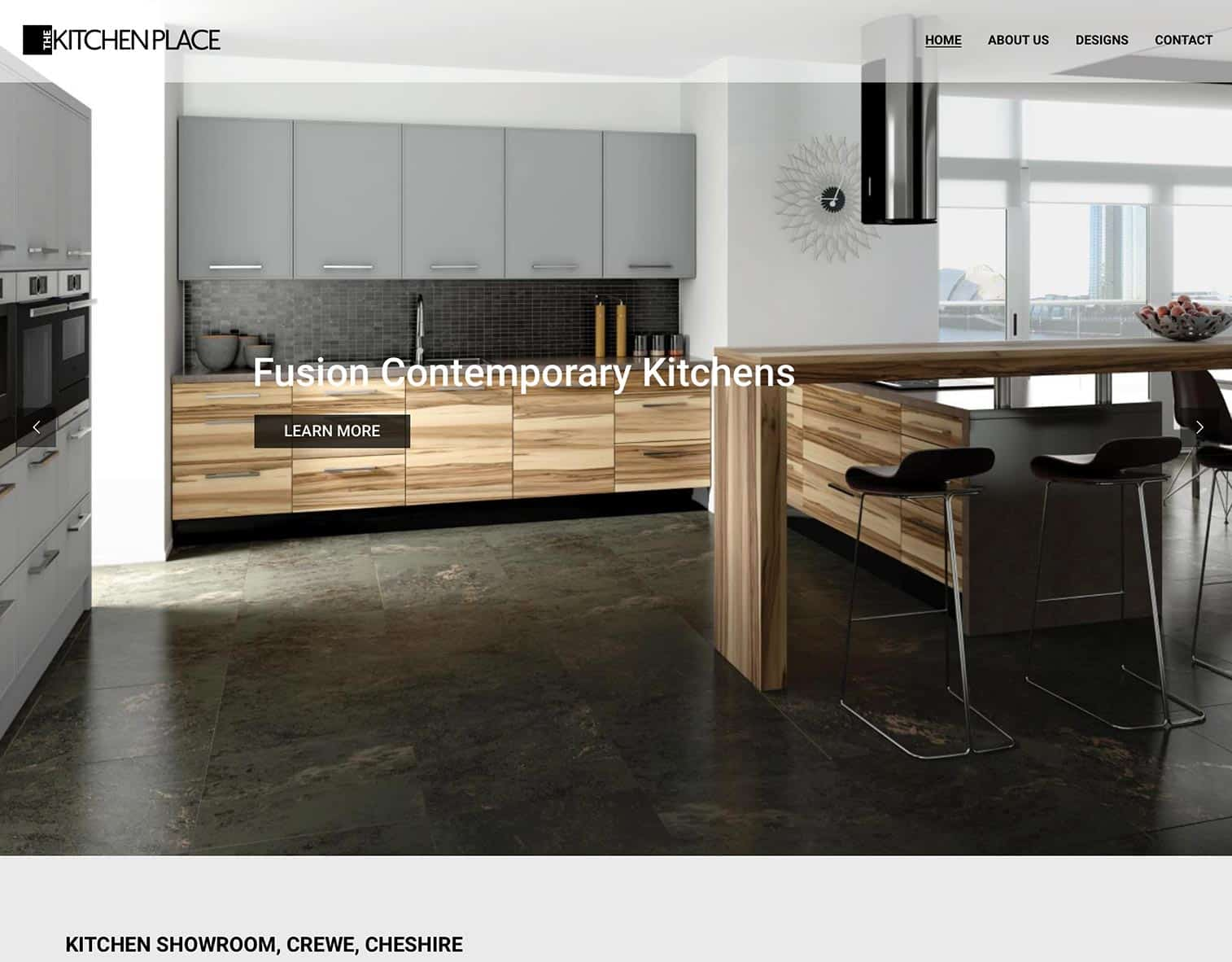 The Kitchen Place Website - KITCHEN SHOWROOM, CREWE, CHESHIRE